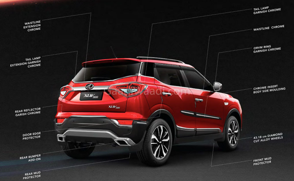 Mahindra XUV300 Offered With A Range Of Accessories - Details-1