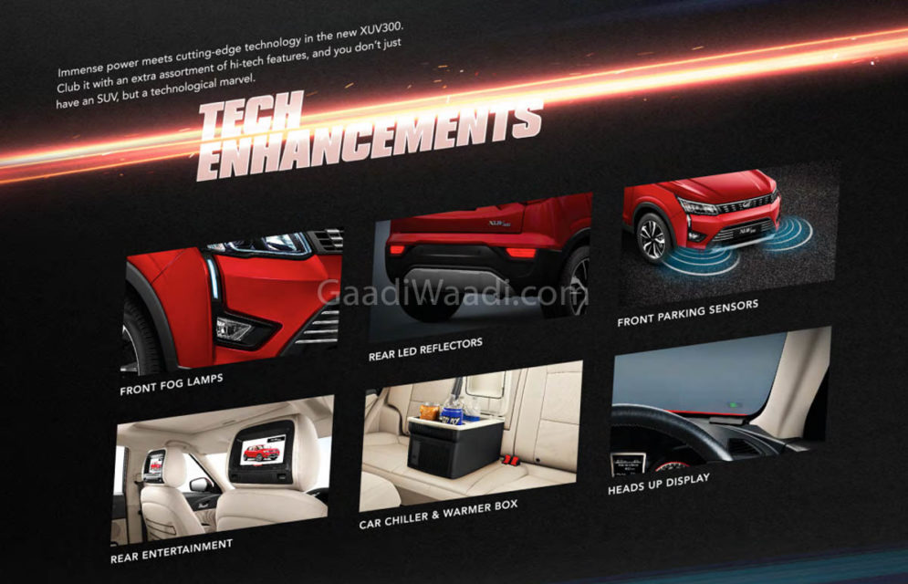 Mahindra XUV300 Offered With A Range Of Accessories - Details-7