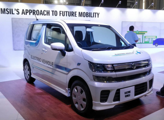 Maruti Suzuki Wagon R EV Future Mobility Show 2019 1