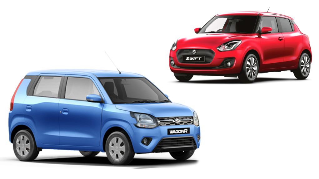 Maruti Suzuki Wagon R Vs Maruti Suzuki Swift - Comparison