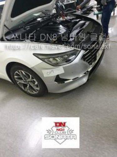Next Generation 2020 Hyundai Sonata Leaked 1