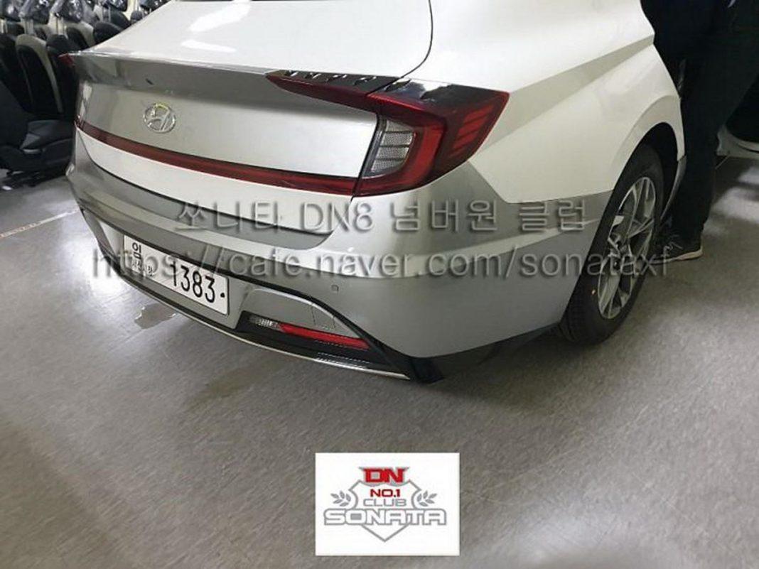 Next Generation 2020 Hyundai Sonata Leaked