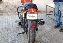 RE interceptor red rooster exhaust