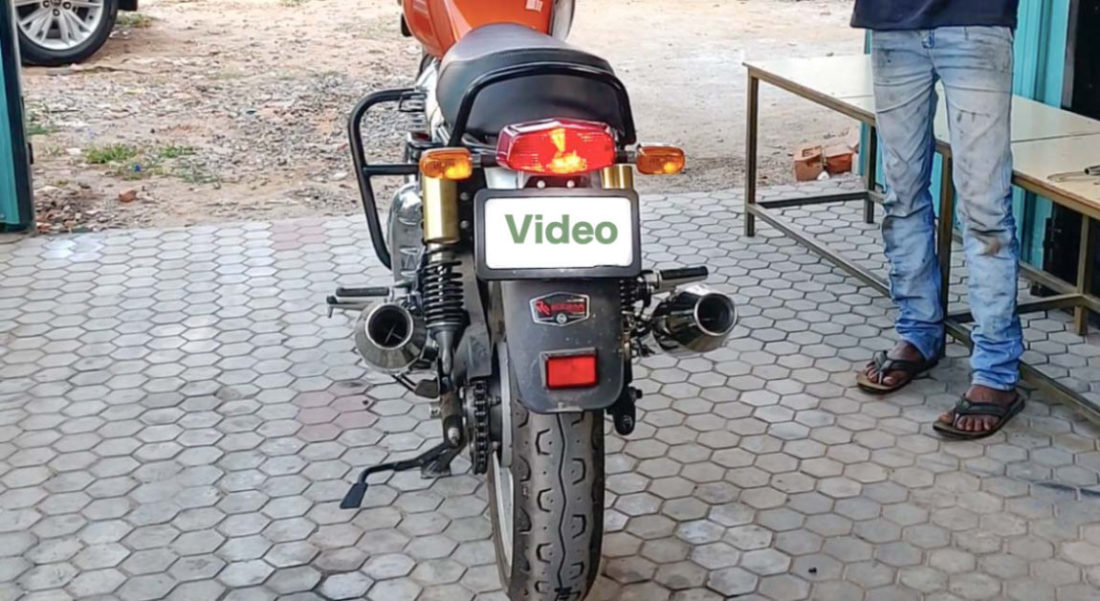 Royal Enfield Interceptor 650 With Red Rooster Racing Exhaust Is Bliss