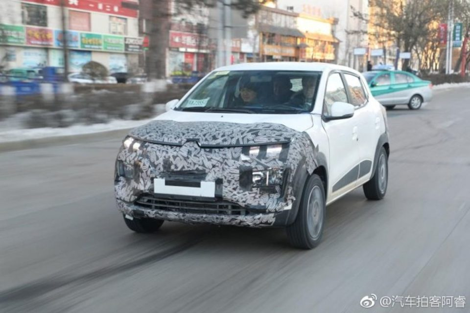 Renault-Kwid-EV-production-model-spotted-for-first-time