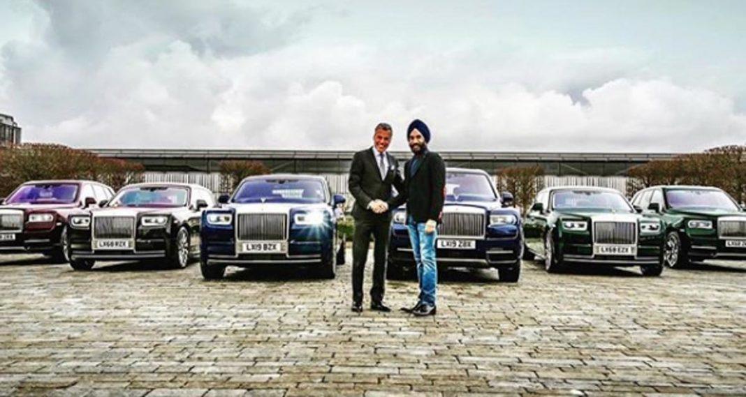 Reuben Singh Billionaire Rolls Royce 1