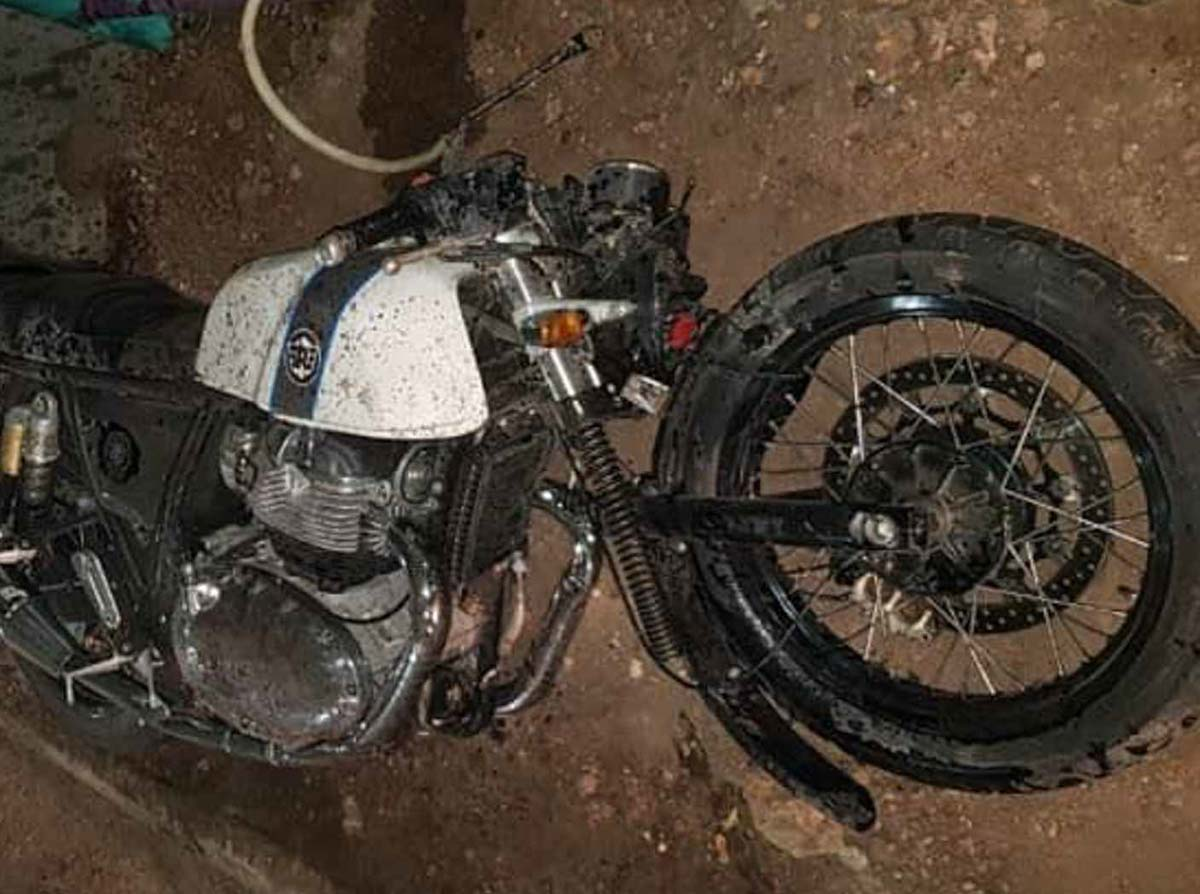 Re Continental Gt650 Crashes Heavily In Kerala More Power Comes