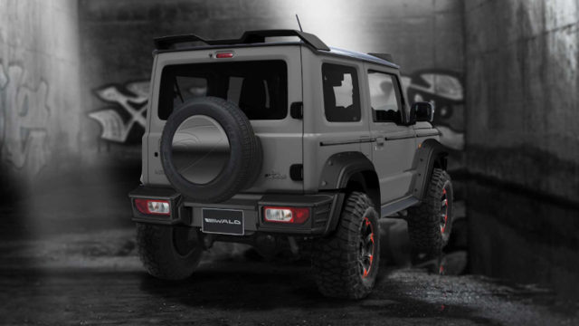 Suzuki Jimny Black Bison Edition by Wald International 5
