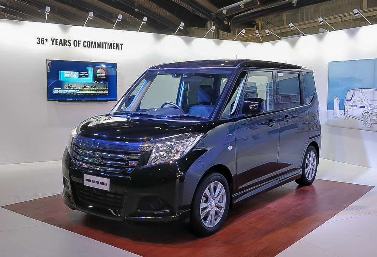 Suzuki Solio Hybrid Showcased At 2019 India Future Mobility Show