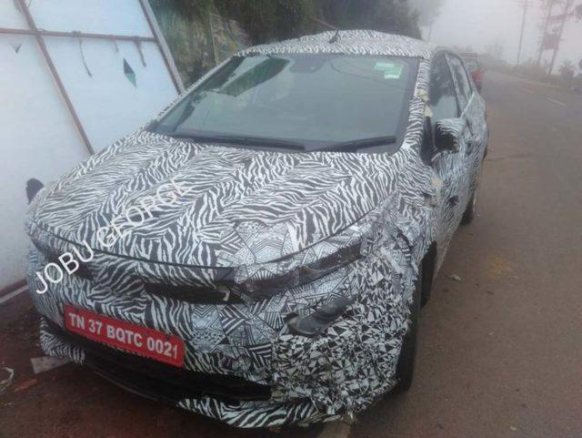 Tata 45X Spied Again