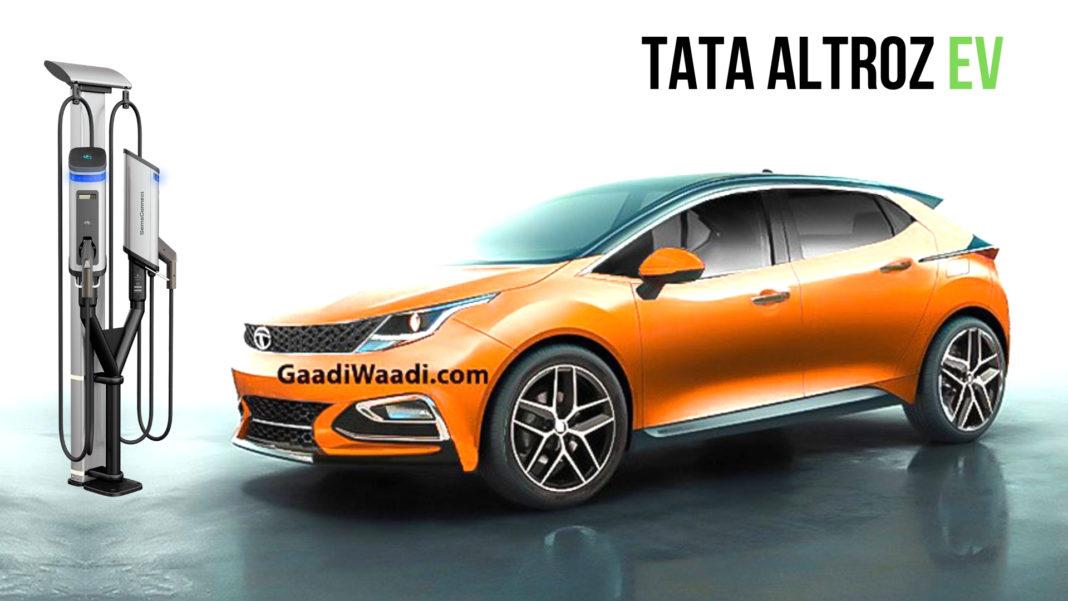Tata Altroz Electric Concept