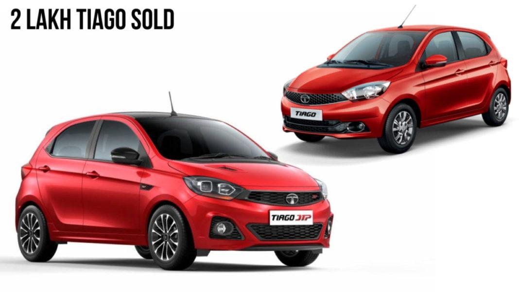 Tata Tiago Achieves 2 Lakh Sales Milestone