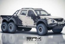 Tata Xenon 6x6 Rendering 1