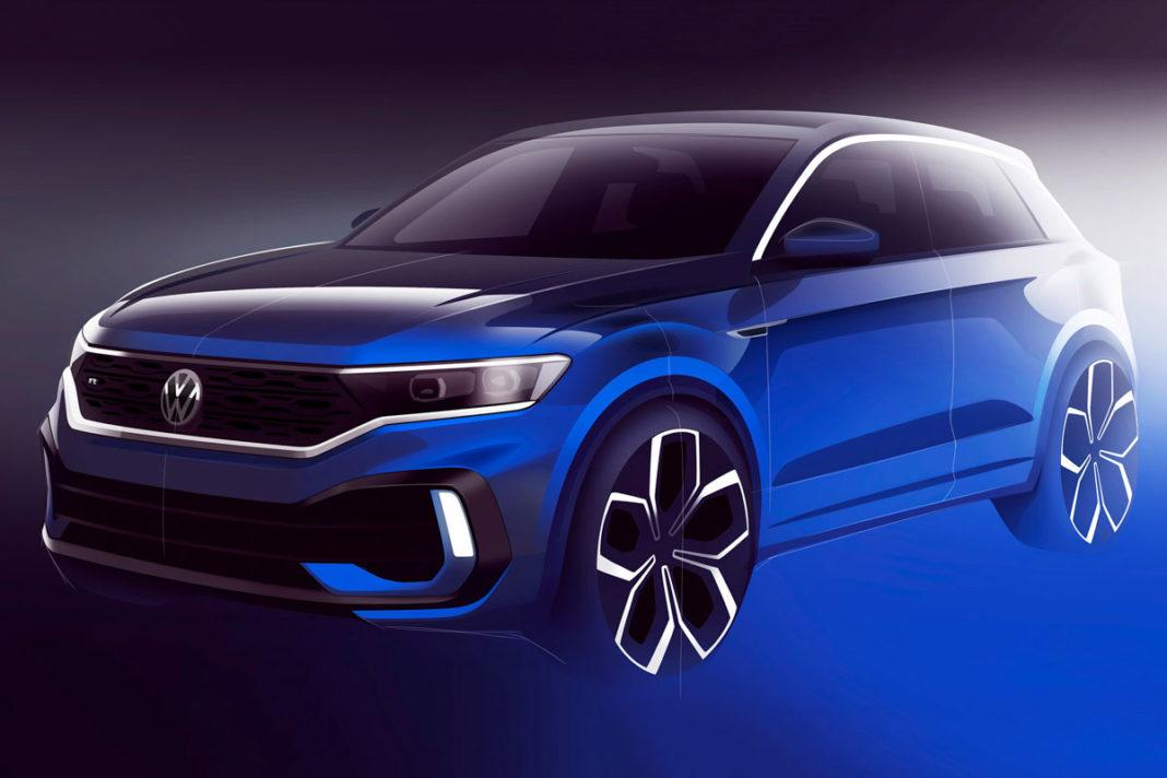 Volkswagen T-Roc R Teased 1