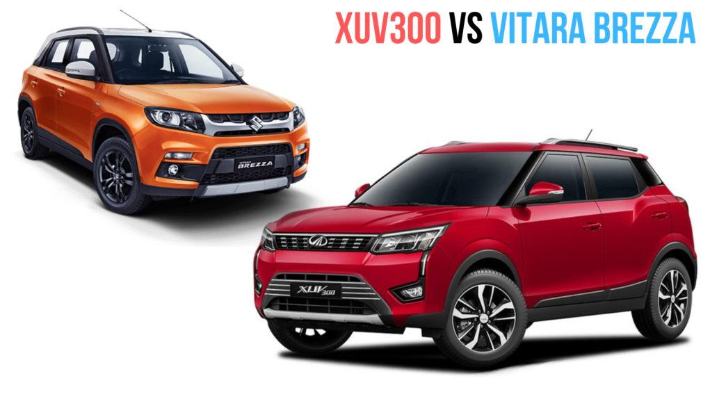XUV300 vs Vitara Brezza