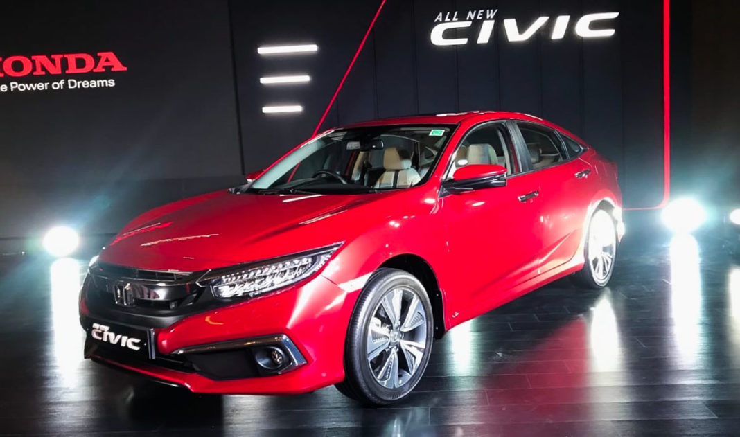 honda civic india 2019-1-3