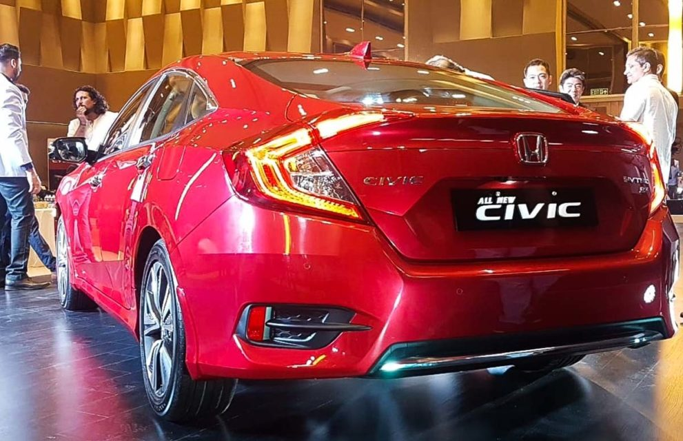 honda civic india 2019-2