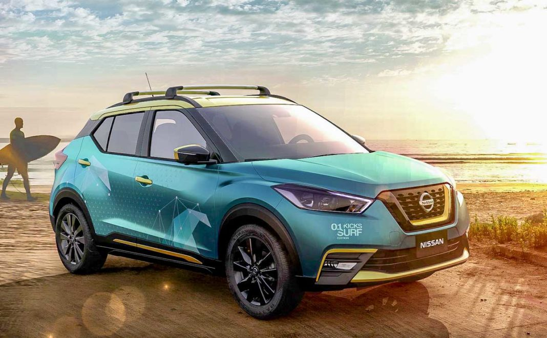 Nissan Unveils Kicks Surf Concept With Portable Shower System