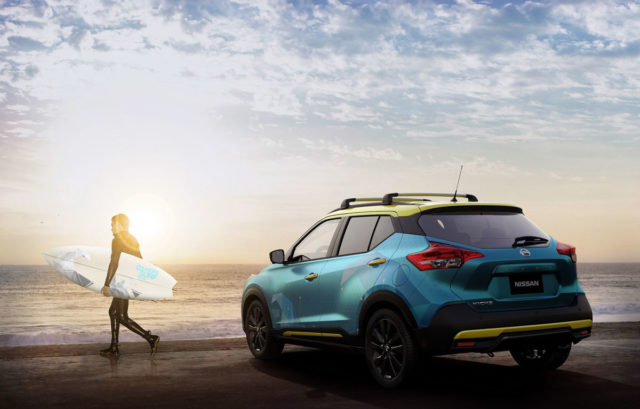 nissan kicks surf concept Rear