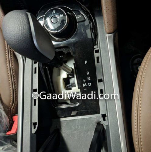 tata harrier automatic variant spied