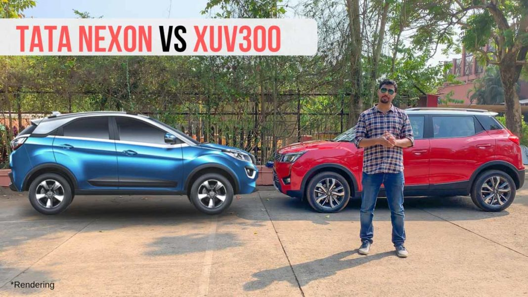 xuv300 vs tata nexon comparison-1