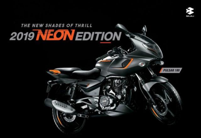 2019 Bajaj Pulsar 180F (Neon Edition)