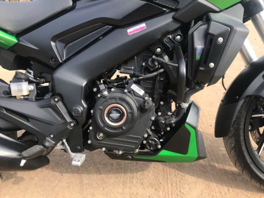 2019 bajaj dominar revealed engine
