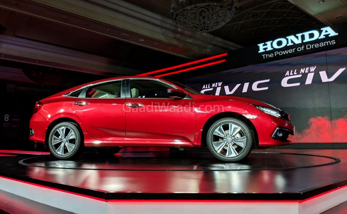 Electric Car Comparison >> 2019 Honda Civic Launched From Rs. 17.69 Lakh In India