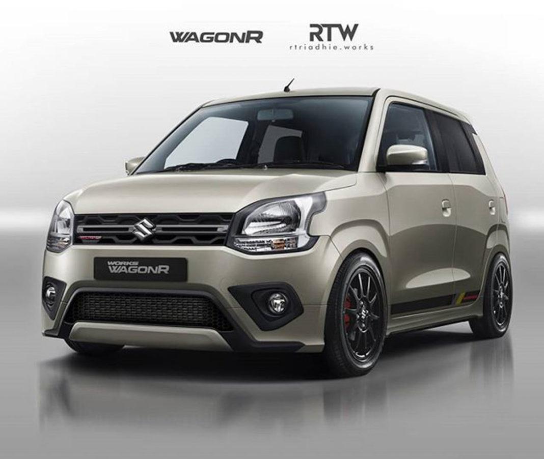 This Custom Wagon R Grabs Eyeballs With Sporty Body Kit