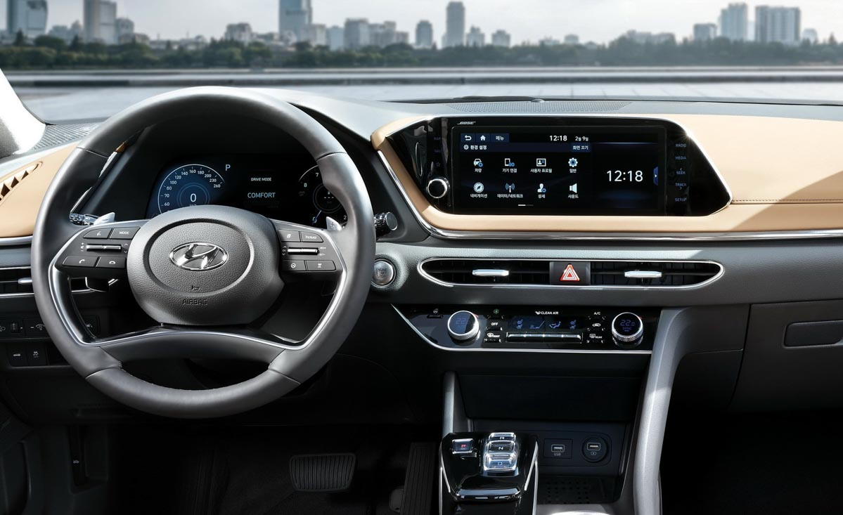 Next-Gen Hyundai Sonata Officially Revealed Ahead Of NYIAS Debut