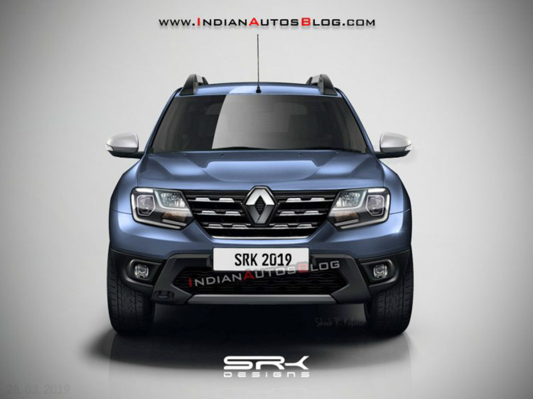 2020 Renault Duster Facelift Rendered_