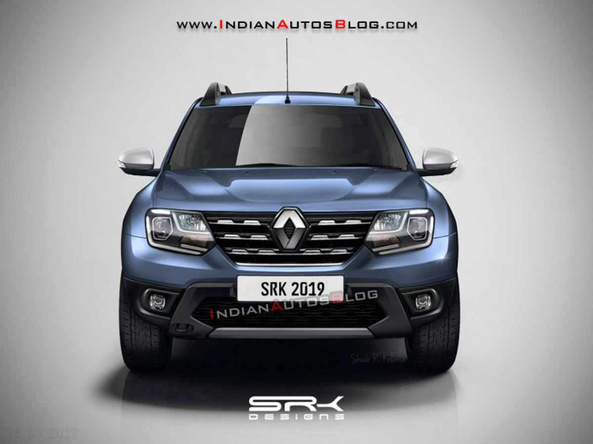 renault duster facelift rendered india launch  year