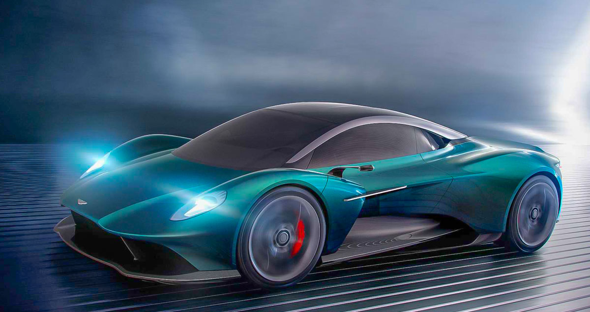 Vanquish Vision Concept Previews Aston Martin's First ...