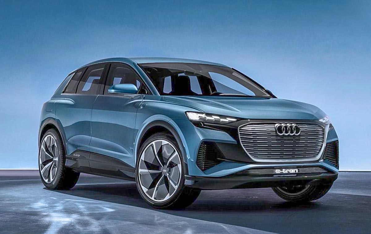 Audi Q4 e-tron SUV Signals The Future; Production To Begin ...