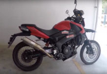 Bajaj Dominar 400 Modified