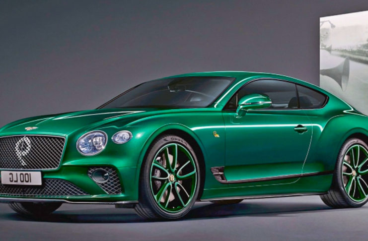 Bentley Continental GT Number 9 Edition 1