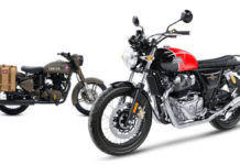 Big Drop In RE 500 cc Motorcycle Sales Following 650 Twins Launch