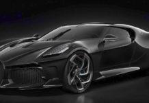 Bugatti La Voiture Noire Design