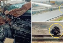 High-speed Accident With Maruti Dzire Shows Ford EcoSport