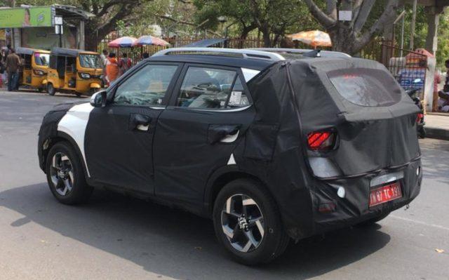Hyundai Styx Spied India 1