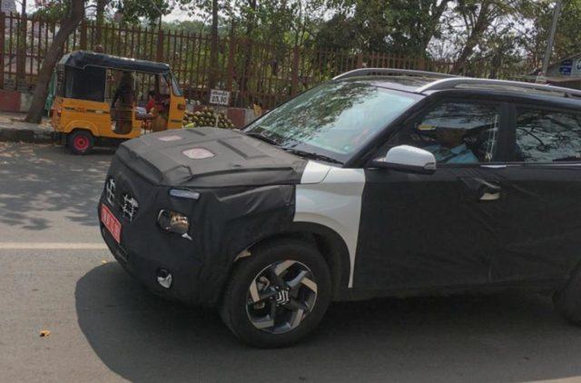 Hyundai Styx Spied India
