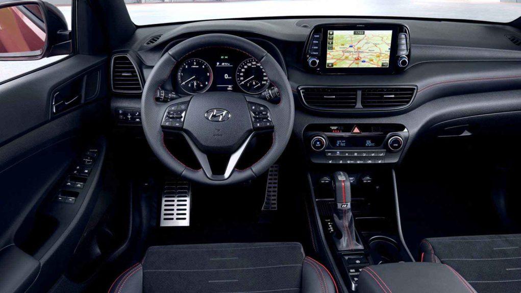 Hyundai Tucson N Interior