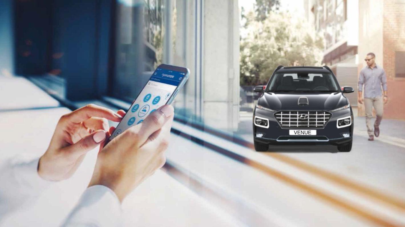 Upcoming Hyundai Venue SUV To Offer Remote Immobilisation