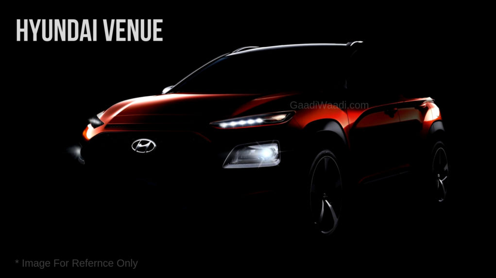 Hyundai Venue compact suv gaadiwaadi