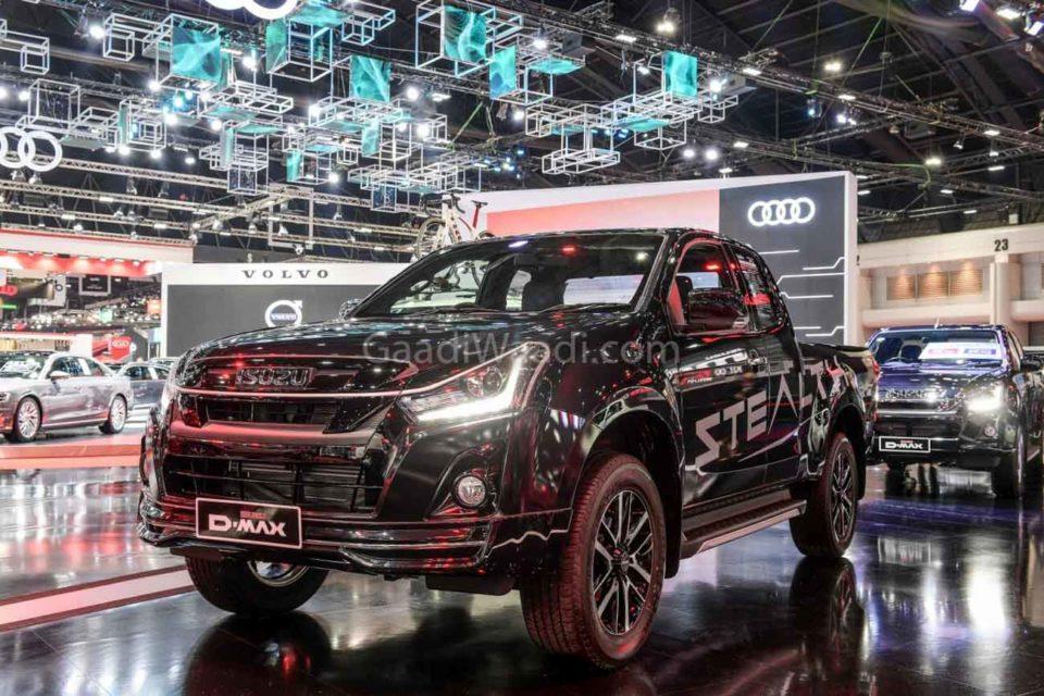 India-Bound Isuzu V-Cross Facelift Showcased At 2019 BIMS-6