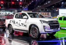 India-Bound Isuzu V-Cross Facelift Showcased At 2019 BIMS-7