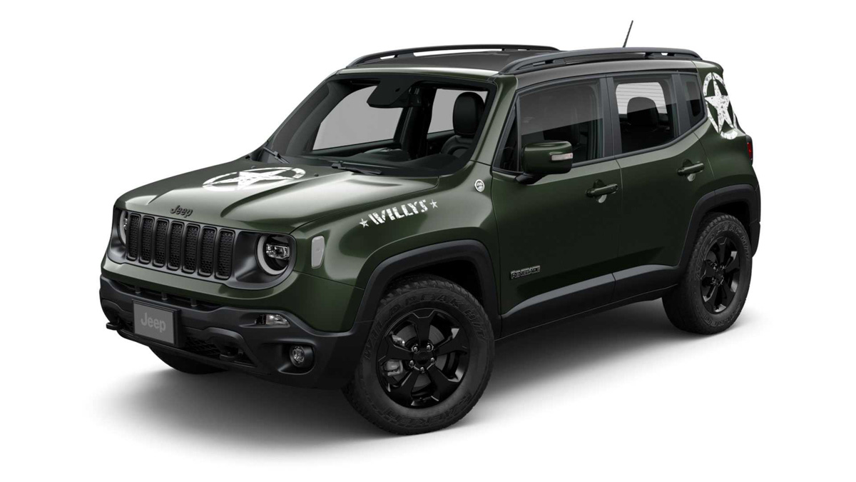 Jeep Renegade Willys Special Edition Pays Tribute To ...