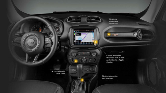 Jeep Renegade Willys Interior
