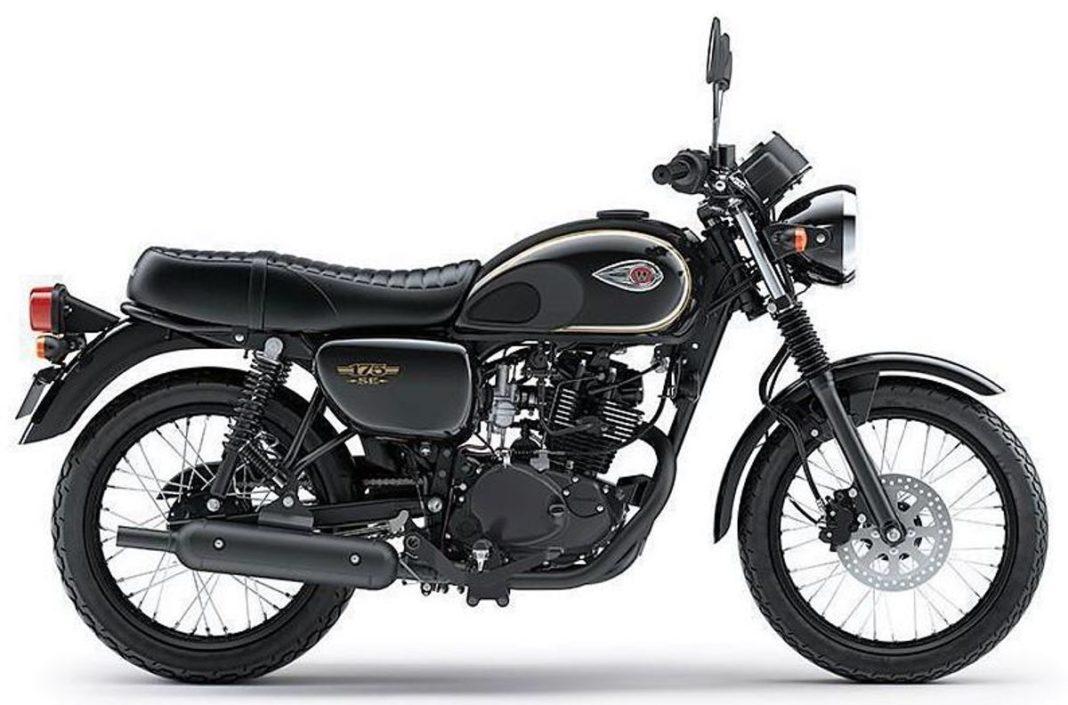 Kawasaki-W175-side
