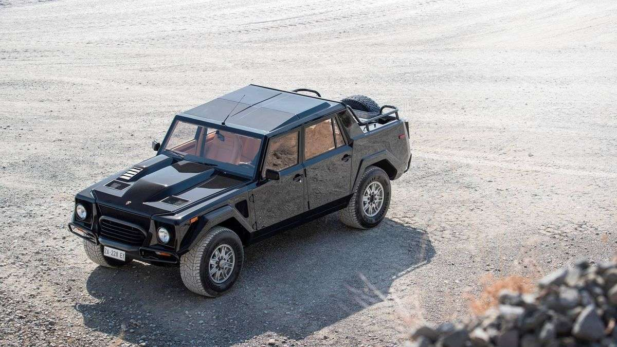 Lamborghini Lm002 Inspired Full Size Off Road Suv Under Consideration